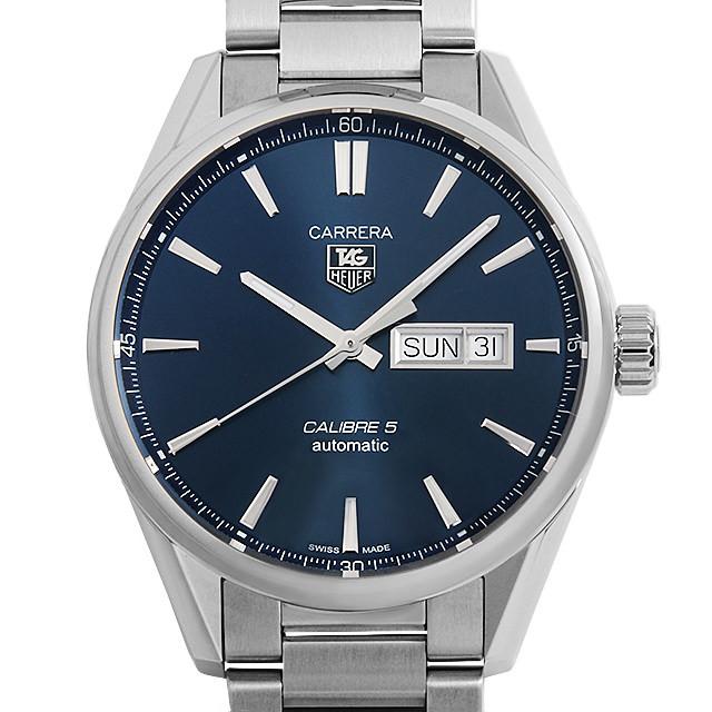 彼氏へのクリスマスプレゼント 高級腕時計 タグホイヤー カレラ キャリバー5 デイデイト WAR201E.BA0723