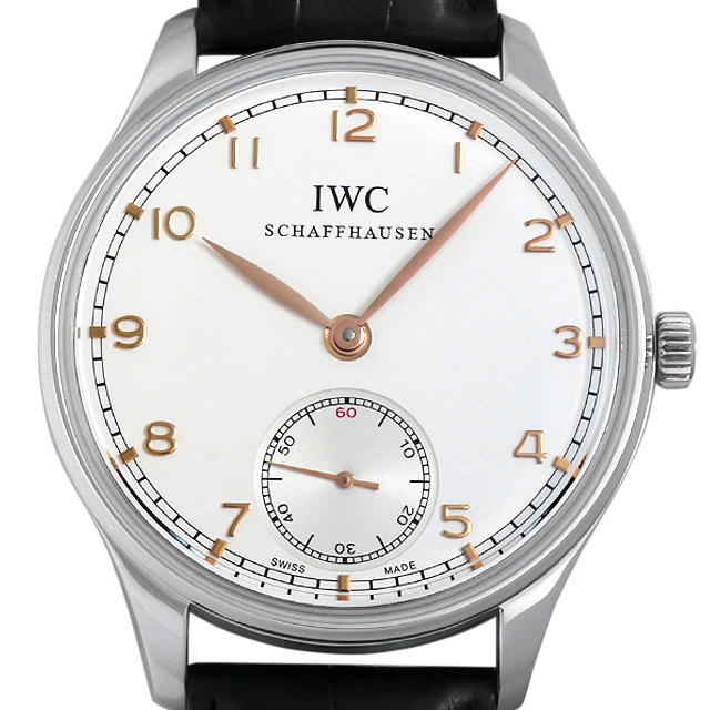 IWC ポルトギーゼ ハンドワインド IW545408 中古 メンズ