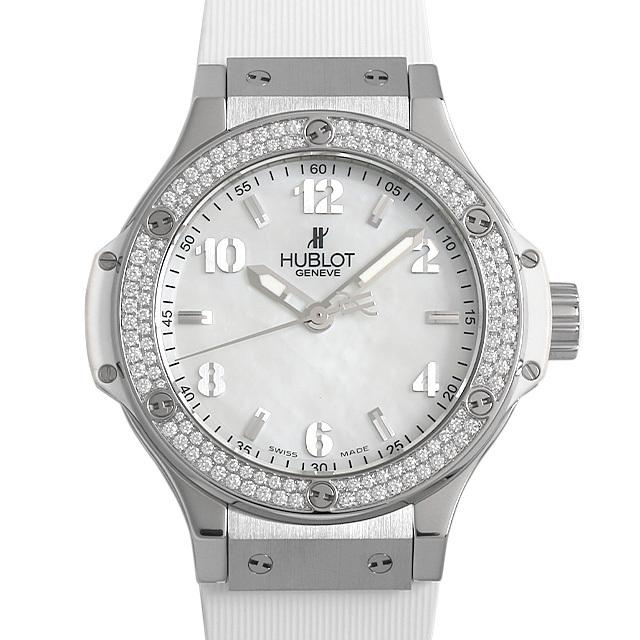 ビッグバン オールホワイト ダイヤモンド マザーオブパール 361.SE.6010.VR2.1104 メイン画像