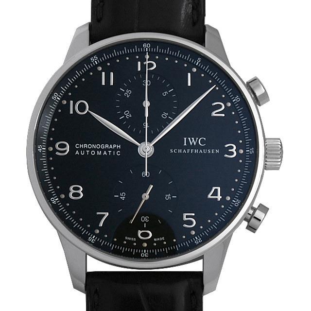 IWC ポルトギーゼ クロノグラフ IW371447 中古 メンズ