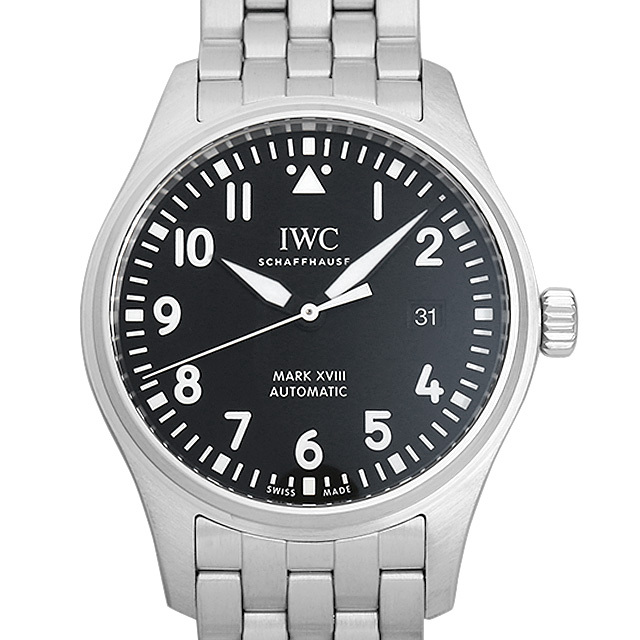 IWC パイロットウォッチ マーク18 IW327015 中古 メンズ