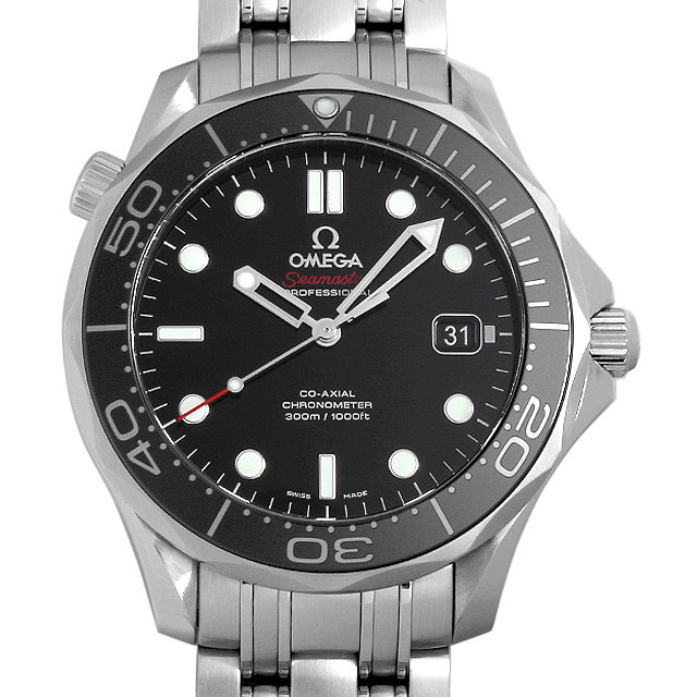 彼氏へのクリスマスプレゼント 高級腕時計 オメガ シーマスター プロダイバーズ 300M 212.30.41.20.01.003