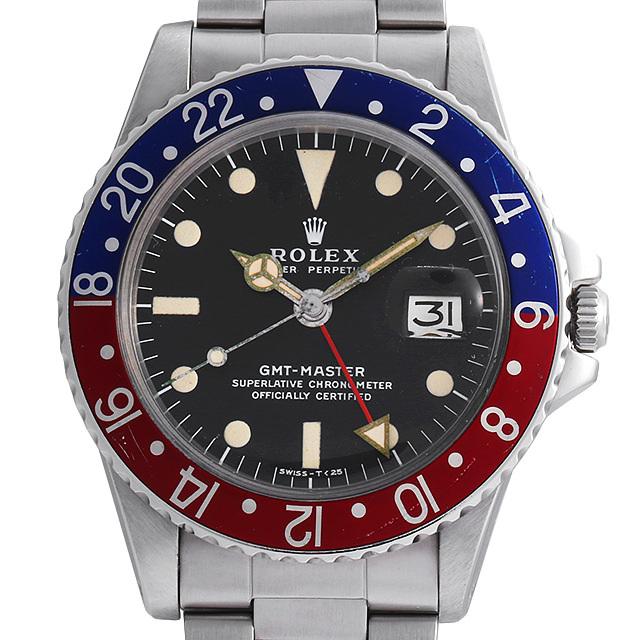 ロレックス GMTマスター 赤青ベゼル 1675 51番 アンティーク メンズ