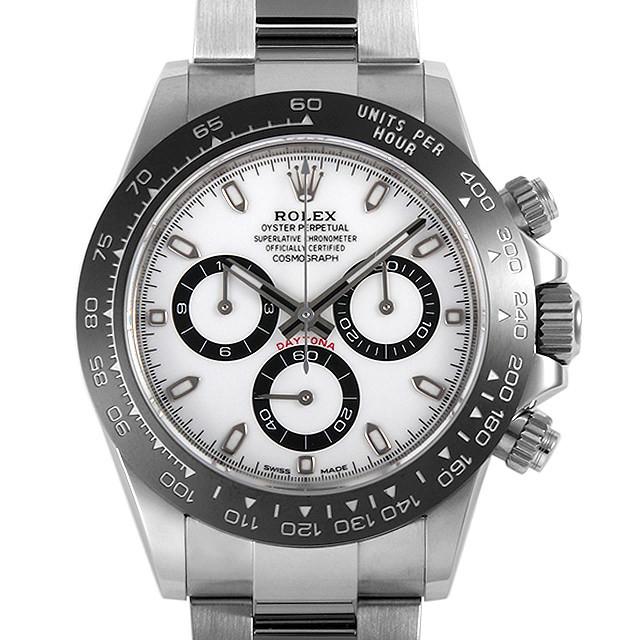 彼氏へのクリスマスプレゼント 高級腕時計 ロレックス コスモグラフ デイトナ 116500LN ホワイト