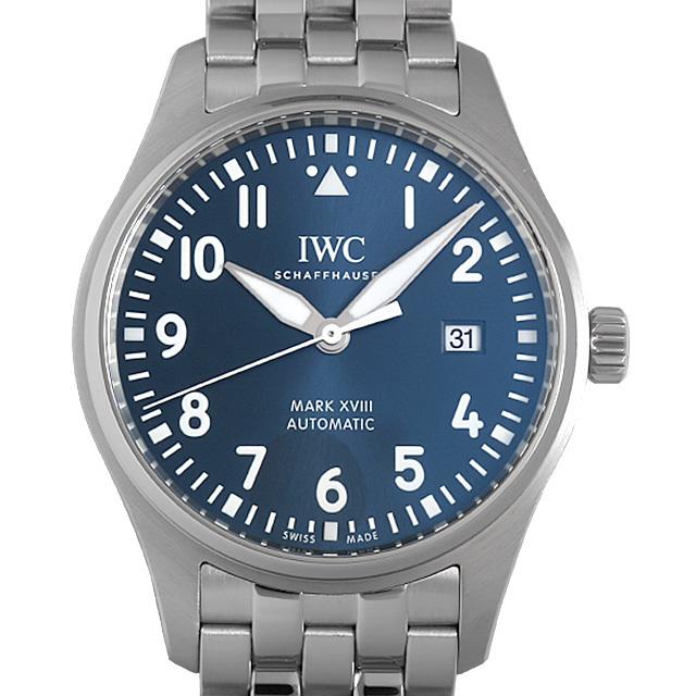IWC パイロットウォッチ マーク18 プティプランス IW327016 中古 メンズ