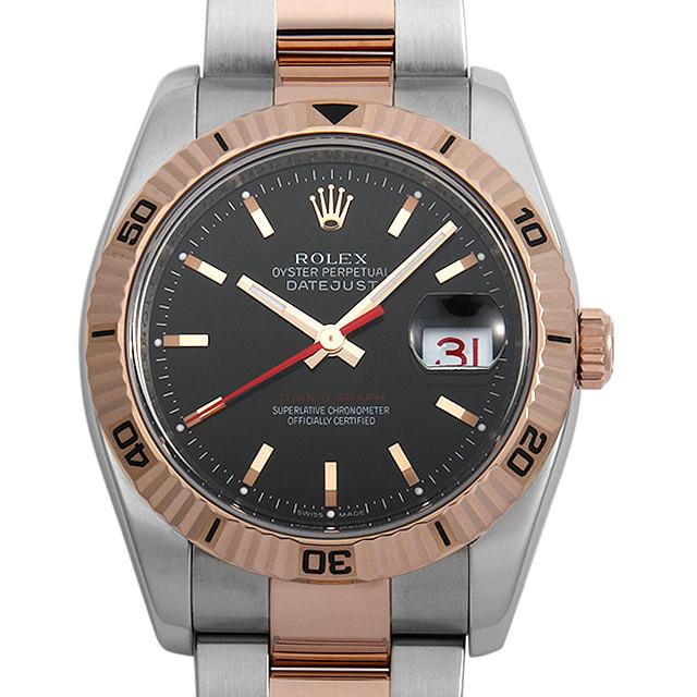 彼氏へのクリスマスプレゼント 高級腕時計 ロレックス デイトジャスト ターノグラフ 116261