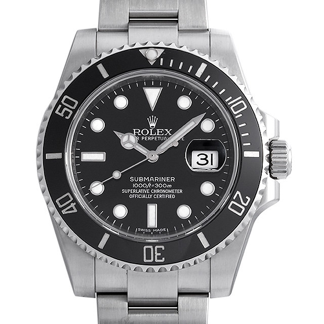 彼氏へのクリスマスプレゼント 高級腕時計 ロレックス サブマリーナ デイト 116610LN