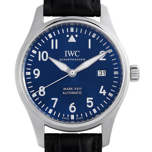 IWC パイロットウォッチ マーク18 プティプランス IW327004 中古 メンズ