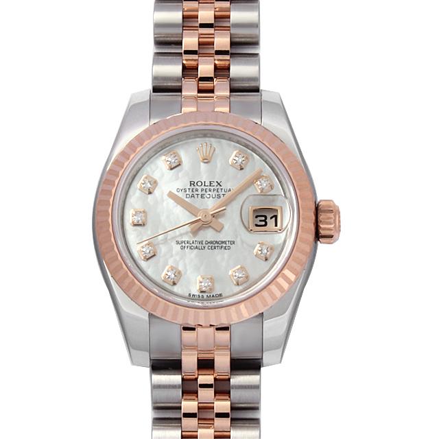 quality design 74b27 1bdd8 179171NG ロレックス(ROLEX) デイトジャスト 10Pダイヤ ホワイト ...