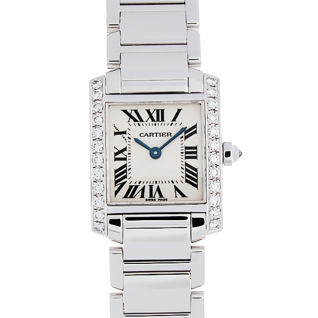 buy popular 224e0 4d292 WE1002S3 カルティエ(Cartier) タンクフランセーズ サイドダイヤ ...