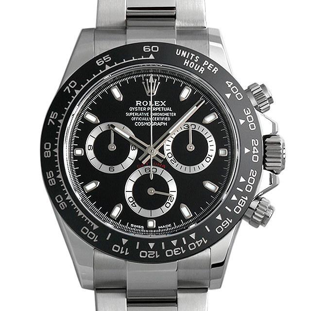 彼氏へのクリスマスプレゼント 高級腕時計 ロレックス コスモグラフ デイトナ 116500LN ブラック