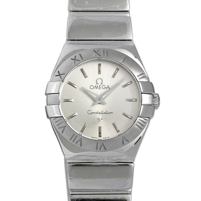 彼女へのクリスマスプレゼント 高級腕時計 オメガ コンステレーション ポリッシュ 123.10.24.60.02.002