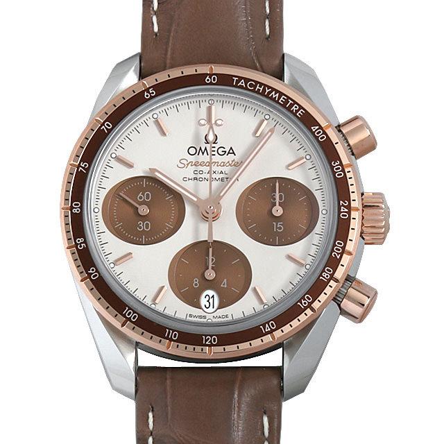 彼女へのクリスマスプレゼント 高級腕時計 オメガ スピードマスター38 コーアクシャル クロノグラフ 324.23.38.50.02.002