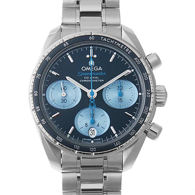 彼女へのクリスマスプレゼント 高級腕時計 オメガ スピードマスター 38 コーアクシャル クロノグラフ オービス 324.30.38.50.03.002