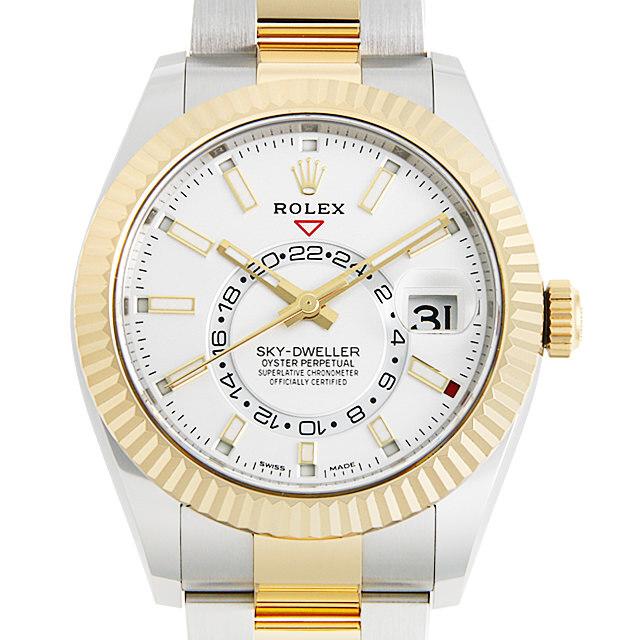 ロレックス スカイドゥエラー 326933 ホワイト 新品 メンズ