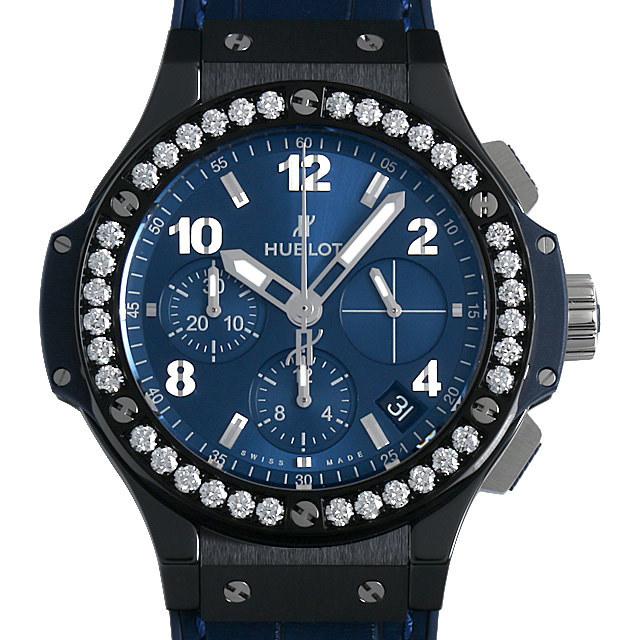 ウブロ ビッグバン セラミック ブルー ダイヤモンド 341.CM.7170.LR.1204 新品 メンズ
