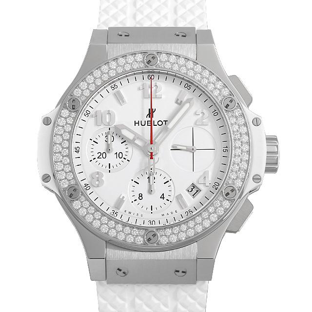 ウブロ ビッグバン スチールホワイト ダイヤモンド 342.SE.230.RW.114 新品 メンズ