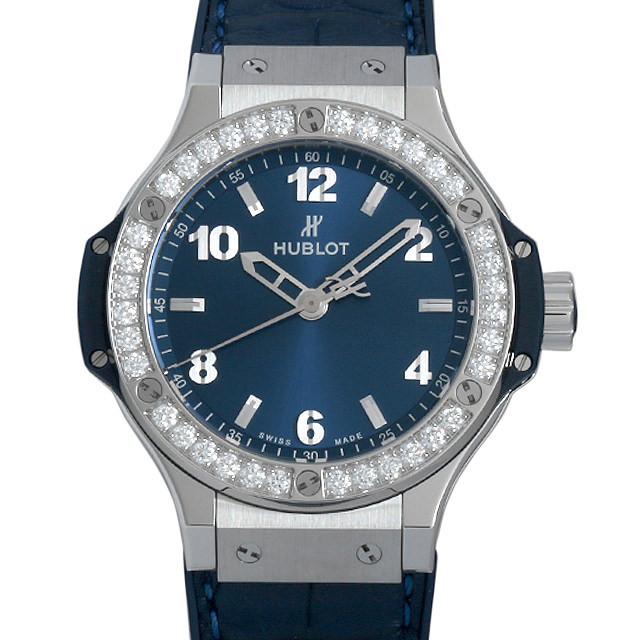 ウブロ ビッグバン スチール ブルー ダイヤモンド 361.SX.7170.LR.1204 新品 メンズ