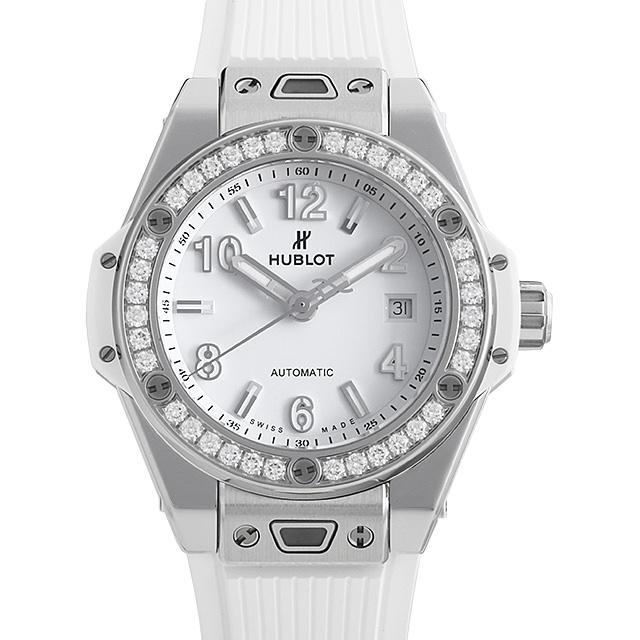 ビッグバン ワンクリック スチールホワイト ダイヤモンド 485.SE.2010.RW.1204 メイン画像