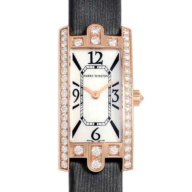 彼女へのクリスマスプレゼント 高級腕時計 ハリーウィンストン アヴェニューC ミニ ベゼルダイヤ AVCQHM16RR017