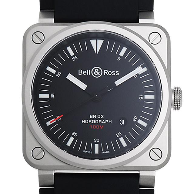 ベル&ロス ホログラフ BR0392-HOR-BLC/SRB 新品 メンズ