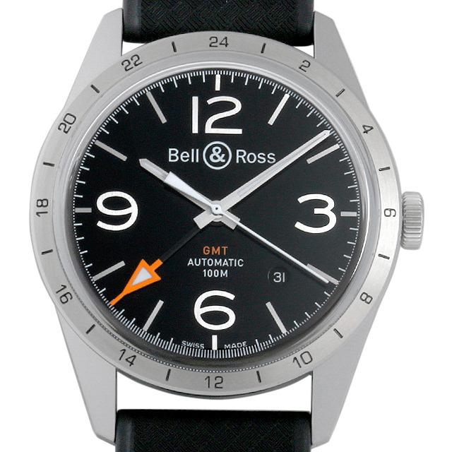 ベル&ロス ヴィンテージ GMT BRV123-BL-GMT/SRB 新品 メンズ