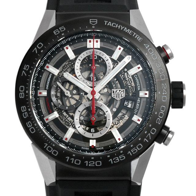 彼氏へのクリスマスプレゼント 高級腕時計 タグホイヤー カレラ キャリバーホイヤー01 CAR2A1Z.FT6044