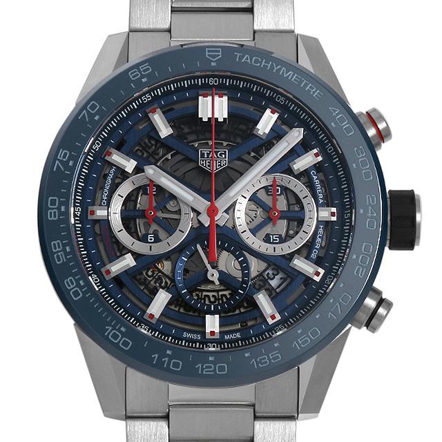 彼氏へのクリスマスプレゼント 高級腕時計 タグホイヤー カレラ キャリバーホイヤー02 クロノグラフ CBG2A11.BA0654