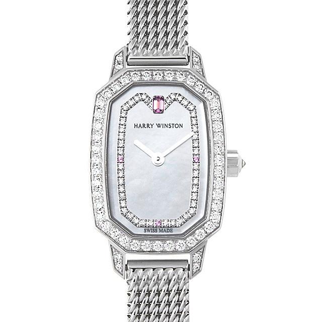 彼女へのクリスマスプレゼント 高級腕時計 ハリーウィンストン エメラルド EMEQHM18WW006