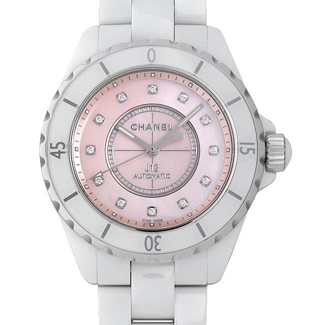 彼女へのクリスマスプレゼント 高級腕時計 シャネル J12 世界限定1200本 H5514