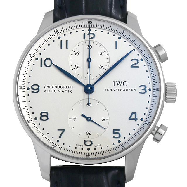 IWC ポルトギーゼ クロノグラフ IW371446 ベルト艶なし 新品 メンズ