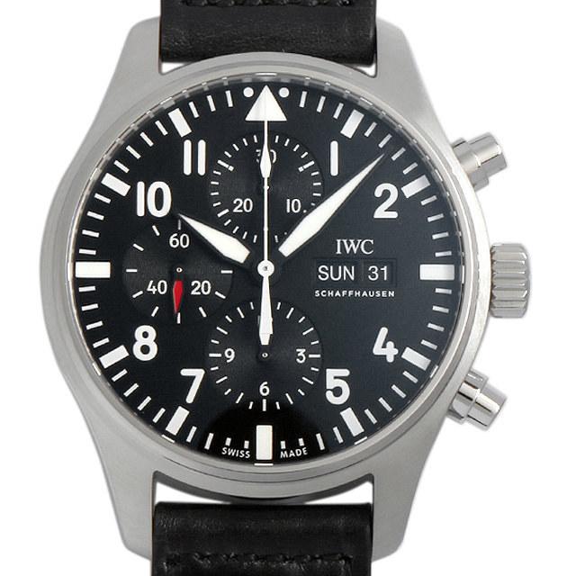 彼氏へのクリスマスプレゼント 高級腕時計 IWC パイロットウォッチ クロノグラフ オートマティック IW377709