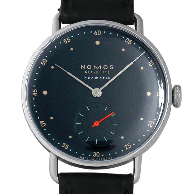 ノモス メトロ ネオマティック ディープブルー MT130014BL2(1110) 新品 メンズ