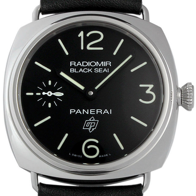 パネライ ラジオミール ブラックシール ロゴ アッチャイオ T番 PAM00380 新品 メンズ