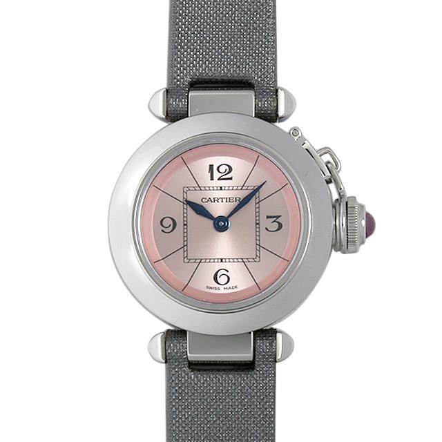 彼女へのクリスマスプレゼント 高級腕時計 カルティエ ミスパシャ W3140026