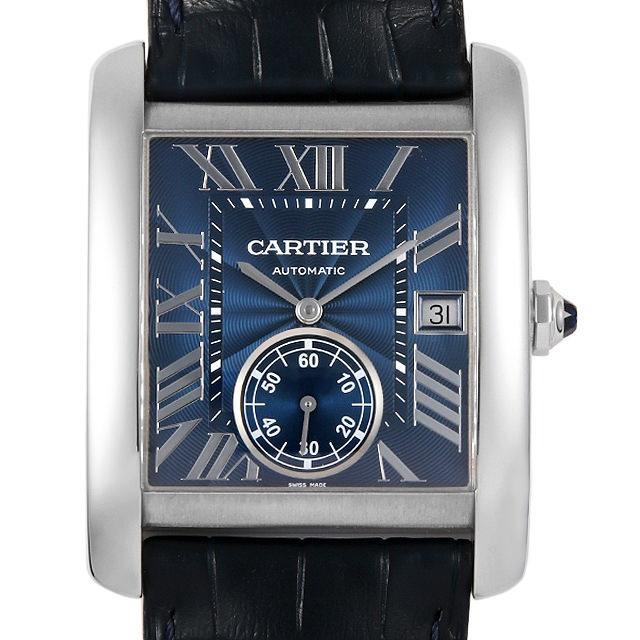 彼氏へのクリスマスプレゼント 高級腕時計 カルティエ タンクMC WSTA0010
