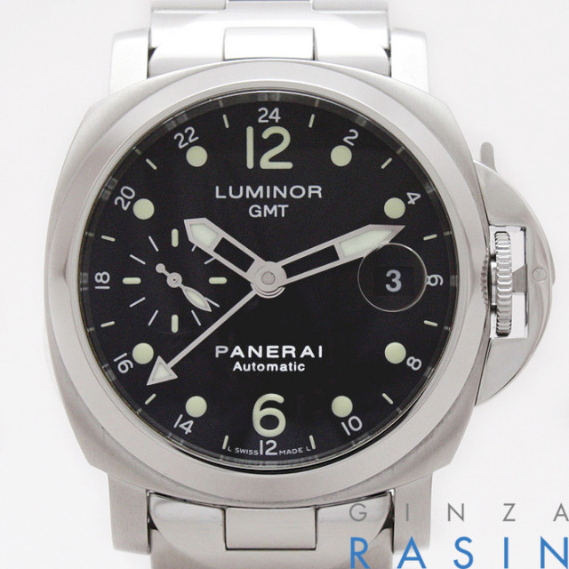 パネライ(PANERAI) ルミノールGMT F番 40mm PAM00160 時計銀座羅針RASIN