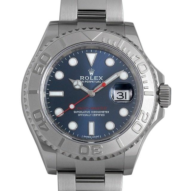 ロレックス ヨットマスター ロレジウム 116622 ブルー ランダムシリアル