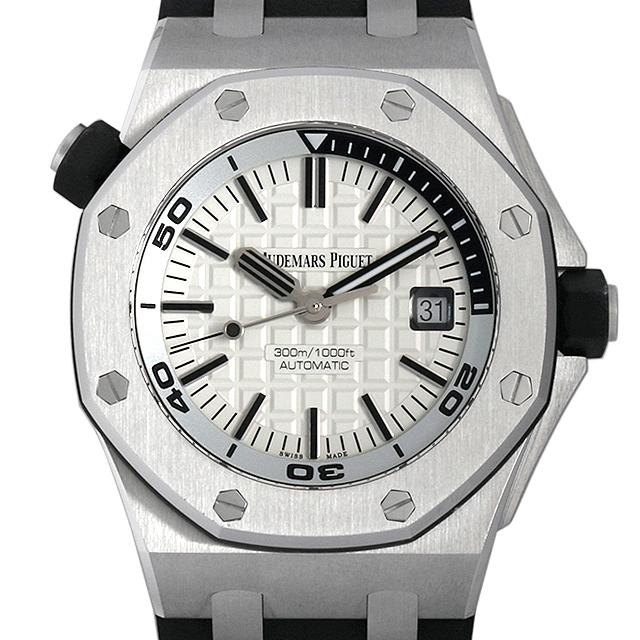 彼氏へのクリスマスプレゼント 高級腕時計 オーデマピゲ ロイヤルオーク オフショア ダイバー 15710ST.OO.A002CA.02
