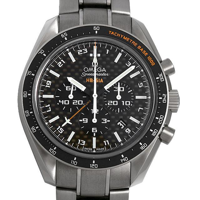オメガ スピードマスター HB-SIA GMT コーアクシャル 321.90.44.52.01.001 未使用 メンズ