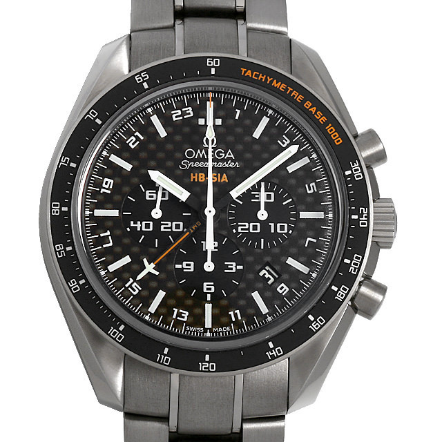スピードマスター HB-SIA GMT コーアクシャル 321.90.44.52.01.001 メイン画像