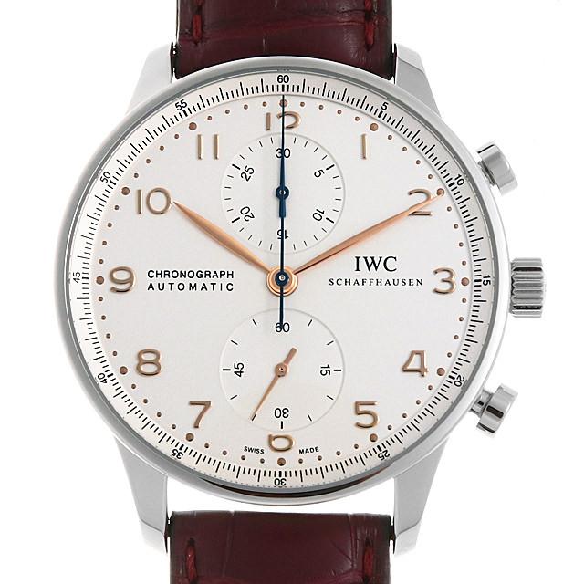 a90c92d484 IW371445 IWC ポルトギーゼ クロノグラフ 未使用/中古・新品時計なら銀座 ...