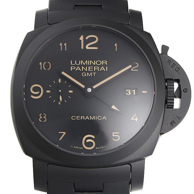 トゥットネロ ルミノール1950 3デイズ GMT PAM00438 メイン画像