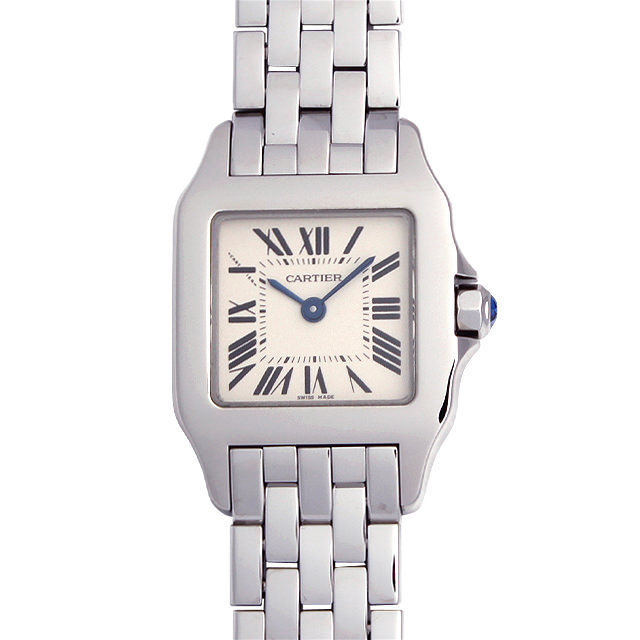 timeless design 4ddf6 25bc5 W25064Z5 カルティエ(Cartier) サントス ドゥモワゼル SM 中古品 ...