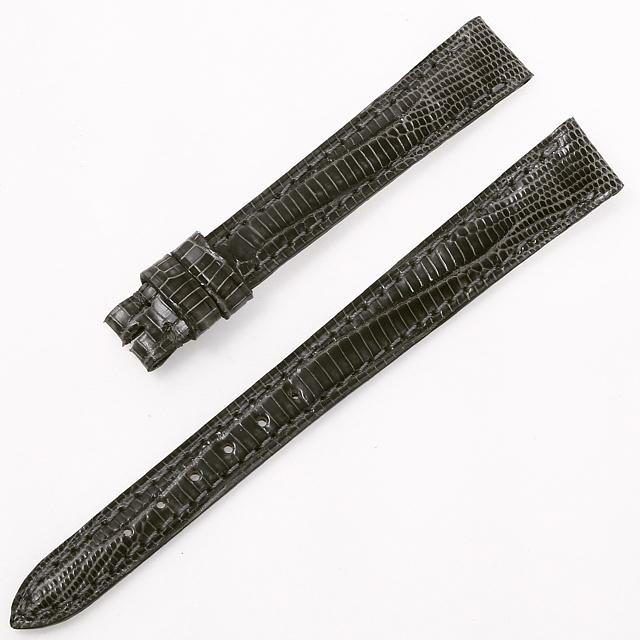 カミーユフォルネ 尾錠用革ベルト テジュー グレー 12mm-10mm 未使用 WEB限定品