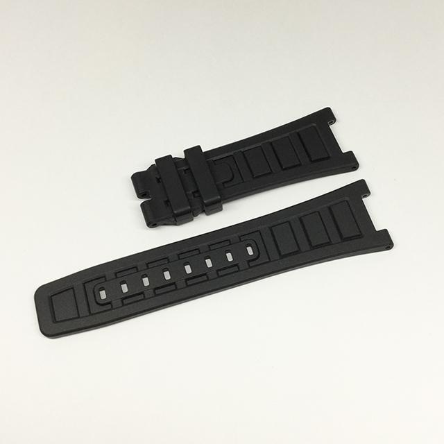 SALE IWC インジュニア用純正革ベルト ラバー 黒/ブラック 26mm-20mm 新品 WEB限定品