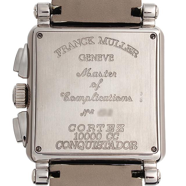 フランクミュラー コンキスタドール コルテス クロノグラフ 10000CC OG サブ画像2