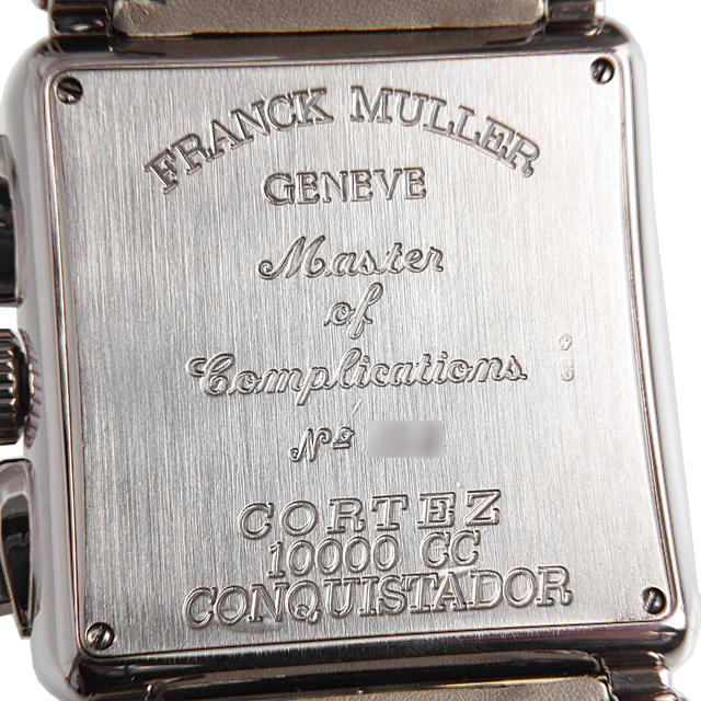 フランクミュラー コンキスタドール コルテス クロノグラフ 10000CC OG サブ画像4