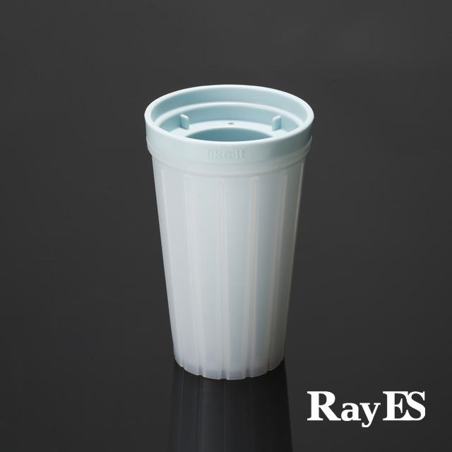 クラッシュアイスメーカー 製氷皿 トレー rayes レイエス ダブルウォールグラス