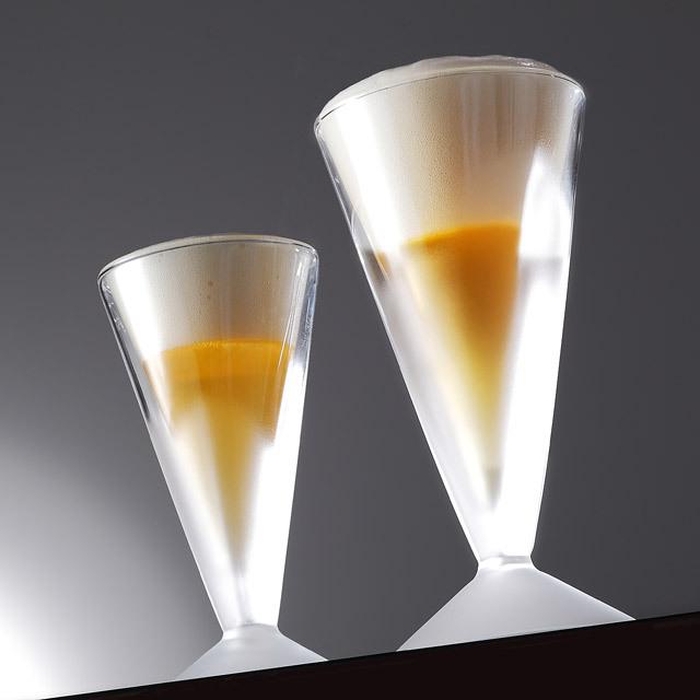 ビール泡立つ ビアグラス フロスト rayes レイエスダブルウォールグラス